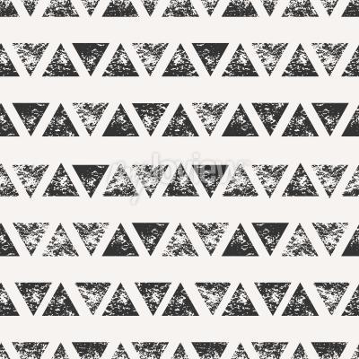 Фотообои Абстрактный бесшовные модели с штампованными треугольной формы