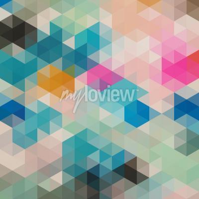 Фотообои Геометрические треугольники 1