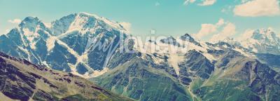 Фотообои панорама Зимние горы
