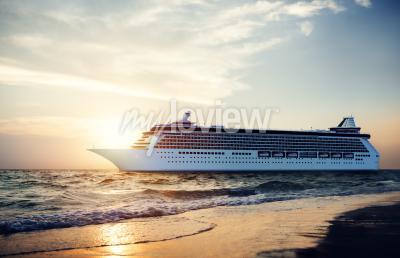 Фотообои Яхт круизных судов Море Океан Тропические Scenic Концепция
