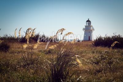 Фотообои Исторический маяк Уэйпапа Пойнт Catlins Новой Зеландии
