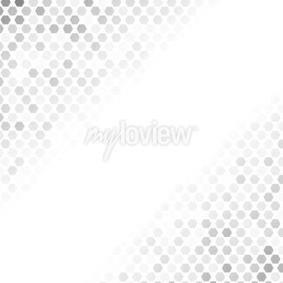 Наклейка Абстрактный серый узор