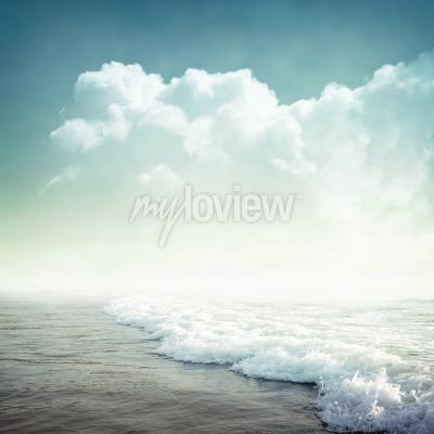 Фотообои Nature tropic background in vintage style