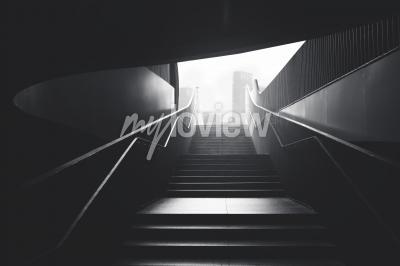 Фотообои Stairs to the city