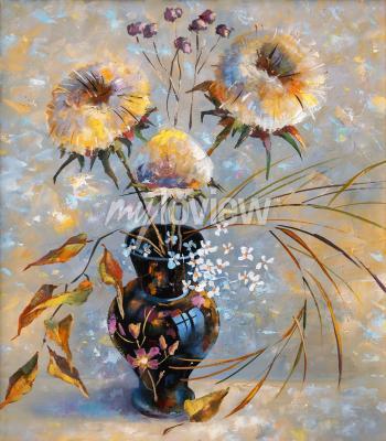 Картина Artwork. Dry flowers. Author: Nikolay Sivenkov