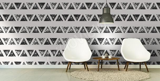 Абстрактные фотообои Треугольники