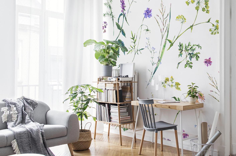 Фотообои Цветы и травы