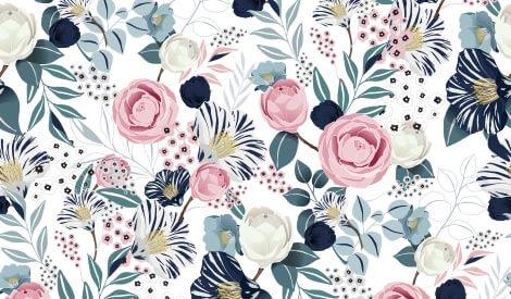цветочный стиль